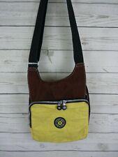 Kipling Private Transport Women's Purse Crossbody Shoulder Bag Brown Yellow