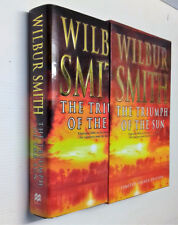 Wilbur Smith The Triumph of The Sun  Limited Signed Numbered  Edition