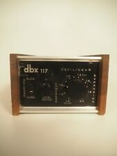 DBX 117 Decilinear Stereo Compressor Expander Limiter Dynamic Range