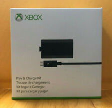 New Official Microsoft Xbox One Play & and Charge Kit Genuine OPENED
