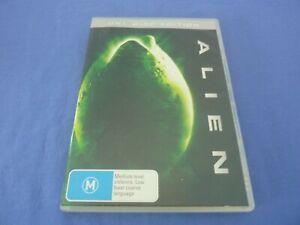 Alien DVD Tom Skerrit Sigourney Weaver John Hurt R4 Free Postage