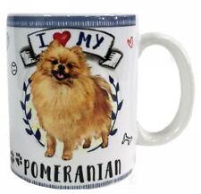 I Love my Pomeranian Mug Dye Sub Ceramic Mug 8OZ