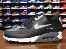 Nike Air Max 90 Essential Shoes (11.5) Black / Silver / Dark Gray