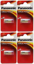 4 X Panasonic Lr1 Batería 1.5 v (tipo N / mn9100) (4 pilas) - Nuevo
