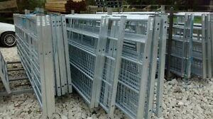 IAE galvanised half mesh box end Farm/Field/Security/Drive/dog/lamb/horse gates