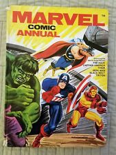 MARVEL COMIC ANNUAL, CAPTAIN AMERICA, HULK, SPIDER-MAN, WORLD DISTRIBUTORS, 1970
