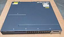 Cisco WS-C3560X-24P-S 24 Port Gigabit Switch version v15.x IOS, Best Quality