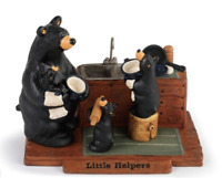 Big Sky Carvers Bearfoots Little Helpers Figurine New January 2019