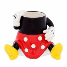 Disney Parks Toothpick Holder Minnie Mouse Feet Mini Glass Ceramic New