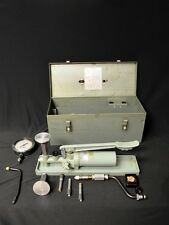 ASHCROFT GAUGE TYPE 1305 B PORTABLE DEAD WEIGHT TESTER WITH CASE 10,000 MAX PSI