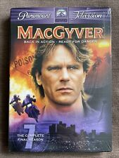 MacGyver: The Complete Seventh Season, The Final Season Dvd Box Set Brand New