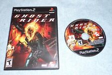 Ghost Rider (Sony PlayStation 2, 2007) WITH FREE SHIPPING