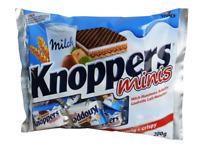2x STORCK KNOPPERS MINIS je 200g - Waffel - Schokolade - Milch - Keks - Snack -