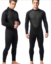 Men 3mm Neoprene Diving Suits Scuba Snorkeling Jump Free Dive Full Body Wetsuits