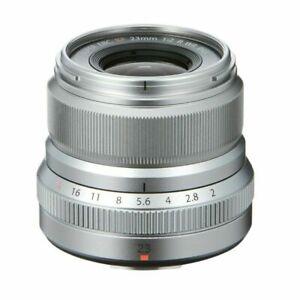 Fujifilm Fujinon XF 23mm F/2 R WR Lens - Silver