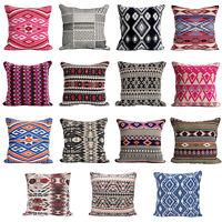 "Cushion Cover 18""x18"" Aztec Geometric Decor, Pillow Case, Sofa turkish moroccan"