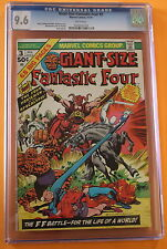 Giant Size Fantastic Four #3 1st FOUR HORSEMEN OF APOCALYPSE 1974 CGC NM+ 9.6