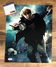 Rupert Grint Signed Harry Potter Autographed 11x14 Photo PSA/DNA COA