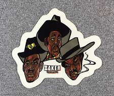 Baker Skateboards Sticker 3.25in Nos guys in hats si