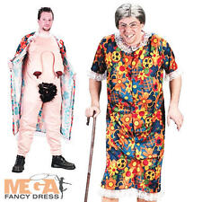 Old Groping Gravity Granny Adults Fancy Dress Flasher Fun Mens Ladies Costume