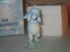 "Ice Dragonets by The Tudor Mint ""Peek A Boo"" Dragon Figurine #Dr12"