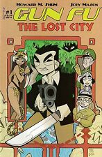 GUN FU : THE LOST CITY # 1<>AXIOM COMICS<>HOWARD M. SHUM / JOEY MASON<>vf(8.0) ~