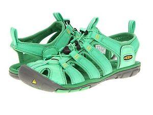 New Women Keen Clearwater CNX Spring Green Water Sport Sandal Shoe Size 5