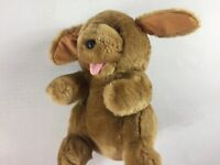 """Sunny Toys Plush Dog VTG Stuffed 11"""" Puppy Cute Cuddly Tongue Out Playful Kids"""