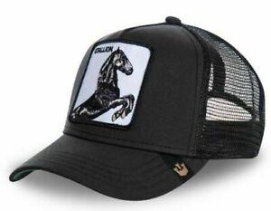 CASQUETTE BASEBALL SNAPBACK GOORIN BROS Etalon Stallion Cheval USA France