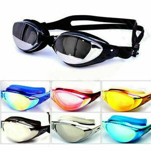 Non-Fogging Anti UV Swimming Swim Goggle Glasses Adjustable Eye Protect Adult