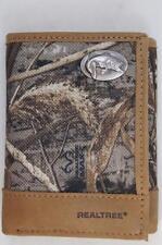 ZEP PRO BASS fish Realtree Max-5 Camo Trifold Wallet TIN GIFT BOX