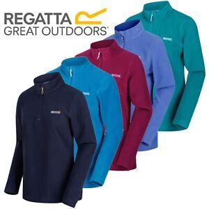 Regatta Womens Sweethart Micro Fleece Top Lightweight Ladies Half Zip Jacket