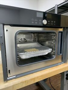 """Thermador MES301HP 24"""" Black Microwave Steam Convection Wall Oven (missing Door)"""