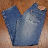 "vtg Levi's 501 Red Tab Denim Jeans - W34"" x L31"" #447 SUPERB VTG"