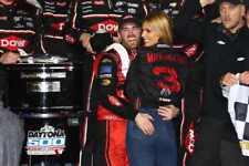 NASCAR SUPERSTAR AUSTIN DILLON WINS DAYTONA 500  8X10 PHOTO W/BORDERS