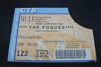 Altes Konzertticket - The Pogues - Circus Krone München - 9.11.1991
