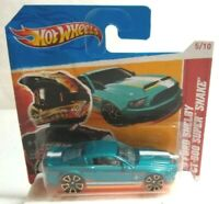 MATTEL HOT WHEELS 2010 FORD SHELBY GT-500 SUPER SNAKE - SEALED BLISTER PACK