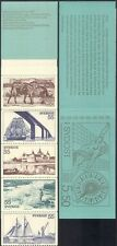 Sweden 1972 Tourism/Horses/Ships/Castle/Bridge/Fishing/Buildings 10v bklt b6820a
