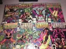 Hercules (1982) #1-4 (1984) #1-4 (2) Full Sets  8 Issues Marvel Comics Layton VF
