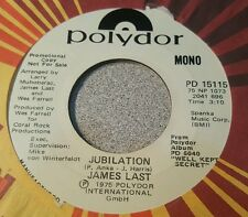 James Last ‎– Theme From Prisoner Of Second Avenue/ Jubilation ~ Promo ~ (VG++)