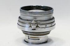 Leica 5cm 50mm Summitar 1:2 LTM Lens, Germany, fits L39 mount camera, 1951