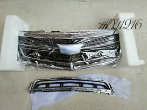 For Cadillac XTS 2013-2017 13-17 Radiator Front Bumper Upper + Lower Grille