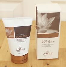 NEW WAIORA Natural Exfoliating Body Scrub Face Wash 4oz Cleanser #7530