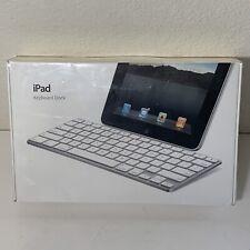 Apple iPad Keyboard/Dock Model A1359. New Still In Plastic.