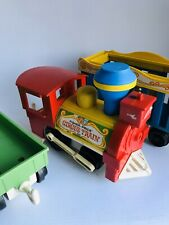 Vintage 1973 Fisher Price Circus Train #991