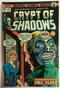 CRYPT OF SHADOWS#18 FN/VF 1975 MARVEL BRONZE AGE COMICS