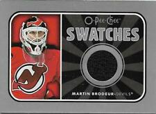 Martin Brodeur 2006-07 O-Pee-Chee Swatches