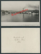 Photo Constantinople NAVY WAR SHIPS FLOATING DOCK Bosphorus Ottomans 1915