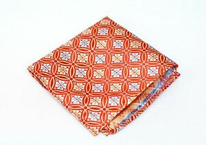 Lord R Colton Masterworks Pocket Square - Salvador Citrine Silk - $75 Retail New