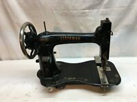 VINTAGE ANTIQUE 1900s STOCKMAN   CAST IRON INDUSTRIAL SEWING MACHINE HEAD ONLY